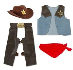 Cowboy Role Play Set Pretend Play Toy