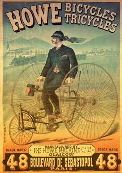 Howe Bicycles Nostalgic / Retro Jigsaw Puzzle