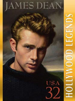 James Dean Famous People New Product - Old Stock