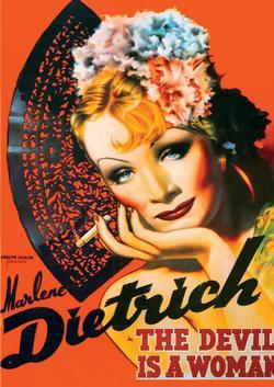 Marlene Dietrich (Vintage Poster) - Scratch and Dent Nostalgic / Retro Jigsaw Puzzle