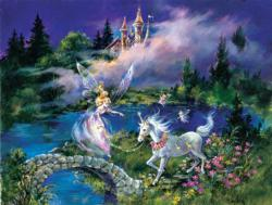 Castles Unicorns Family Puzzle