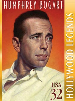 Humphrey Bogart Famous People New Product - Old Stock