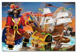 Pirate's BountyFloor Pirates Children's Puzzles