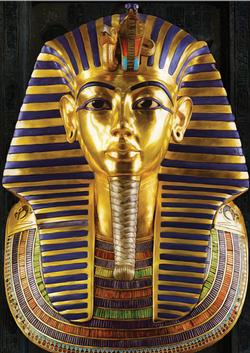 Ancient Egypt - Tutankhamun's Burial Mask (Around the World) Travel Jigsaw Puzzle