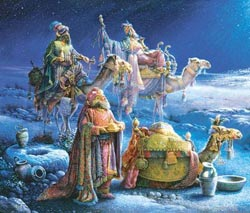They Come Bearing Gifts Christmas Jigsaw Puzzle