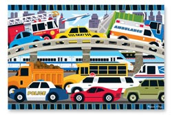 Traffic Jam Vehicles Children's Puzzles