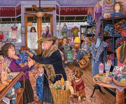 The Yarn Shop People Jigsaw Puzzle
