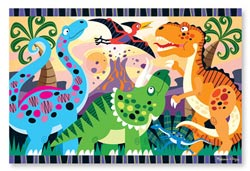 Dinosaur Dawn - Scratch and Dent Dinosaurs Children's Puzzles