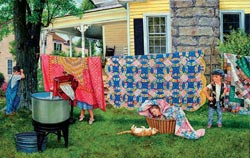 Hide N' Quilt Quilting & Crafts Jigsaw Puzzle