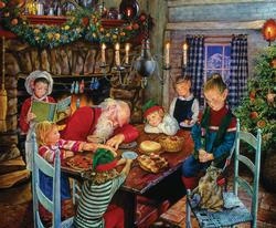 The Patient Elves Christmas Jigsaw Puzzle