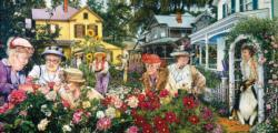 Ladies Garden Club People Jigsaw Puzzle