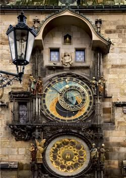 Prague Clock (Around the World) - Scratch and Dent Europe Jigsaw Puzzle