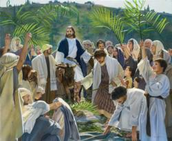 Triumphal Entry Religious Jigsaw Puzzle