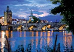 Prague Bridge (Around the World) Lakes / Rivers / Streams Jigsaw Puzzle