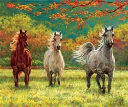 Autumn Meadow Fall Jigsaw Puzzle