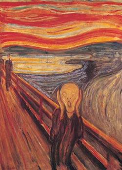 The Scream Contemporary & Modern Art Jigsaw Puzzle