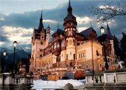 Peles Castle (Around the World) Europe Jigsaw Puzzle