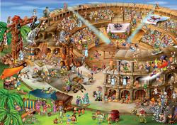 Roman Amphitheatre (Cartoon Collection) Italy Jigsaw Puzzle