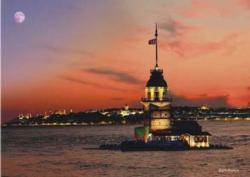 Kiz Kulesi Lighthouses Jigsaw Puzzle