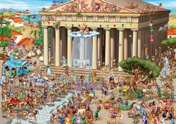 Acropolis of Athens People Jigsaw Puzzle