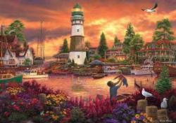 Love Lifted Me Seascape / Coastal Living Jigsaw Puzzle