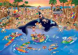 Seaside Antics (Cartoon Collection) Cartoons Jigsaw Puzzle