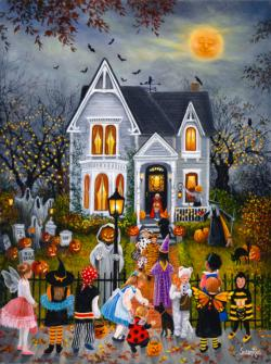Scary Night Halloween Jigsaw Puzzle