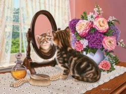 Mirror Image Baby Animals Jigsaw Puzzle