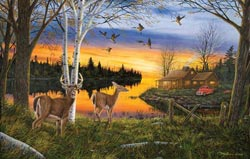 Another Time Wildlife Jigsaw Puzzle