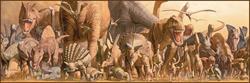 Dinosaurs Dinosaurs Panoramic Puzzle