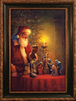 Spirit of Christmas Santa Jigsaw Puzzle