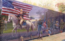 Reviewing the Troops Military Jigsaw Puzzle