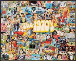 The Seventies Collage Jigsaw Puzzle