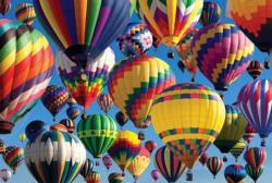 Hot Air Ballooning Balloons Jigsaw Puzzle