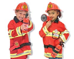 Fire Chief Role Play Costume Set Pretend Play