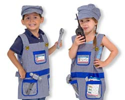 Train Engineer Role Play Costume Set Toy
