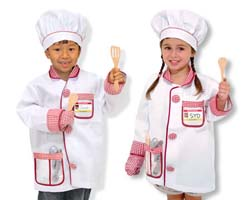 Chef Role Play Costume Set Toy
