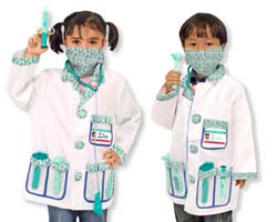 Doctor Role Play Costume Set Pretend Play