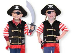 Pirate Role Play Costume Set Pirates