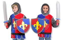 Knight Role Play Costume Set Toy