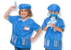 Veterinarian Role Play Costume Set Toy