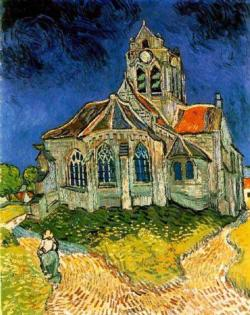 The Church at Auvers Churches Miniature Puzzle