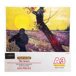 The Sower Fine Art Miniature Puzzle