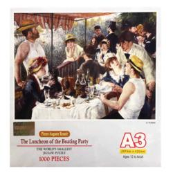 The Luncheon of the Boating Fine Art Miniature Puzzle