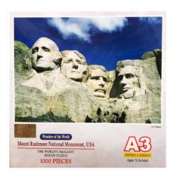 Mount Rushmore National Monument United States Miniature Puzzle