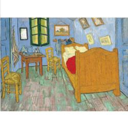 Van Gogh's Bedroom at Arles Fine Art Miniature Puzzle