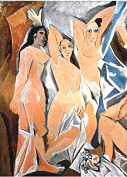 Les Demoiselles D'avignon Abstract Miniature Puzzle