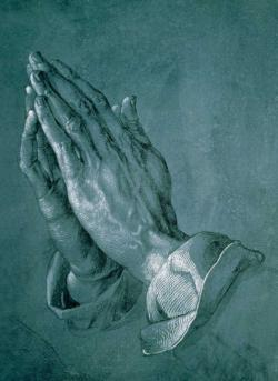 The Praying Hands Fine Art Miniature Puzzle