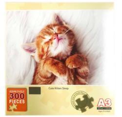 Cute Kitten Sleeping Cats Jigsaw Puzzle