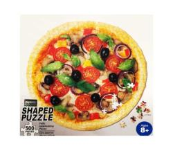 Pizza Food and Drink Shaped Puzzle